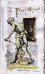 Bernini's David, Borghese Palace
