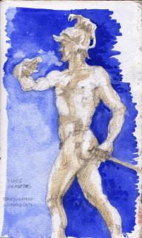 Mars Gravidas, Uffizi Gallery