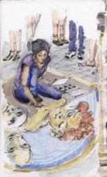 Chalk Artist, Florence