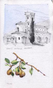 Santiamo Abbey, Italy