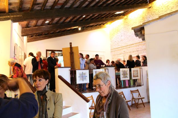 Guests from the Languedoc region attended the vernissage May 3