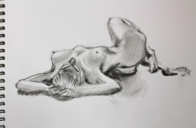 Graphite Sketch Isabelle June 2013