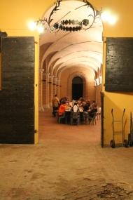 Dinner in the Loggia