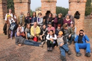 Symposium Artists at Soncino fortress