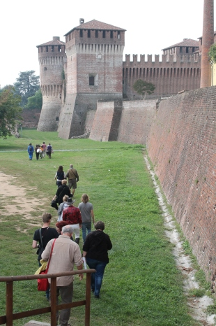 Artists touring Soncino