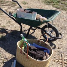 Portable tools in the vineyard